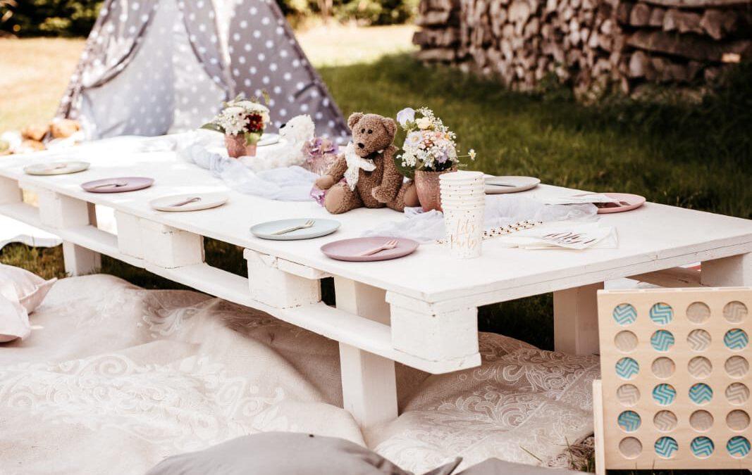 Kindergeburtstag im Garten feiern